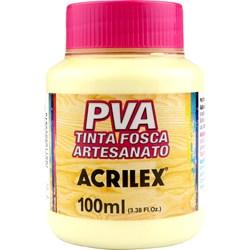 Tinta PVA Fosca para Artesanato Acrilex 100mL Marfim
