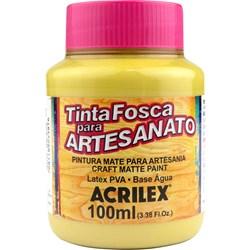 Tinta PVA Fosca para Artesanato Acrilex 100mL Ocre Ouro