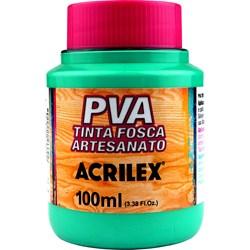 Tinta PVA Fosca para Artesanato Acrilex 100mL Turquesa