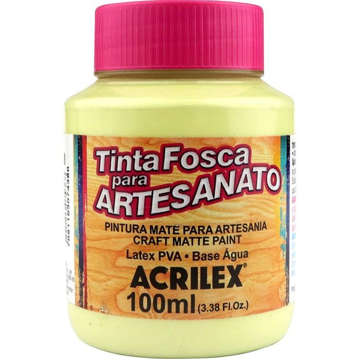 Tinta PVA Fosca para Artesanato Acrilex 100mL Verde Alecrim
