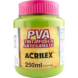 Tinta PVA Fosca para Artesanato Acrilex 250mL Verde Pistache