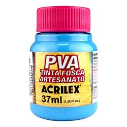 Tinta PVA Fosca para Artesanato Acrilex 37mL - 503 Azul Celeste