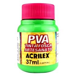 Tinta PVA Fosca para Artesanato Acrilex 37mL - 510 Verde Folha