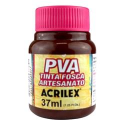 Tinta PVA Fosca para Artesanato Acrilex 37mL - 526 Marrom Escuro