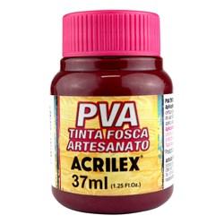 Tinta PVA Fosca para Artesanato Acrilex 37mL Arandano