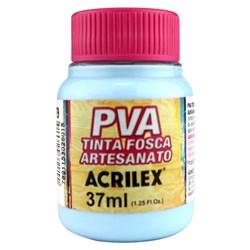 Tinta PVA Fosca para Artesanato Acrilex 37mL Azul Hortênsia