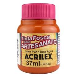 Tinta PVA Fosca para Artesanato Acrilex 37mL Laranja Escuro