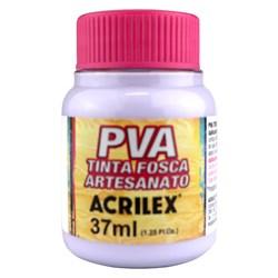 Tinta PVA Fosca para Artesanato Acrilex 37mL Lilás Bebê