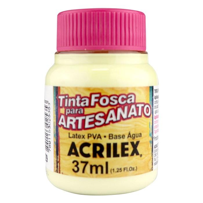 Tinta PVA Fosca para Artesanato Acrilex 37mL Marfim