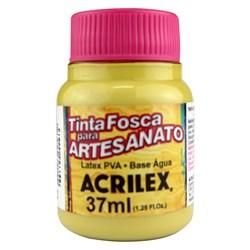 Tinta PVA Fosca para Artesanato Acrilex 37mL Ocre Ouro