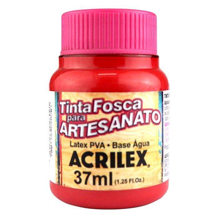 Tinta PVA Fosca para Artesanato Acrilex 37mL Romã