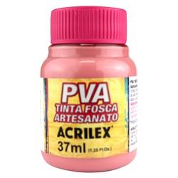 Tinta PVA Fosca para Artesanato Acrilex 37mL Rosa Antigo
