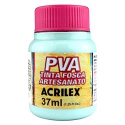 Tinta PVA Fosca para Artesanato Acrilex 37mL Verde Água