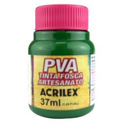 Tinta PVA Fosca para Artesanato Acrilex 37mL Verde Musgo