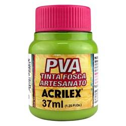 Tinta PVA Fosca para Artesanato Acrilex 37mL Verde Pistache