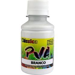 Tinta PVA Fosca para Artesanato True Colors 100mL - 7101 Branco