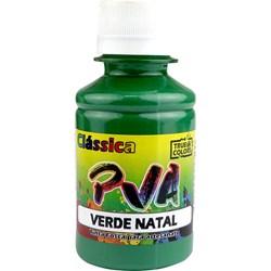 Tinta PVA Fosca para Artesanato True Colors 100mL - 7104 Verde Natal
