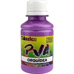Tinta PVA Fosca para Artesanato True Colors 100mL - 7141 Orquídea