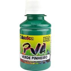 Tinta PVA Fosca para Artesanato True Colors 100mL - 7177 Verde Pinheiro