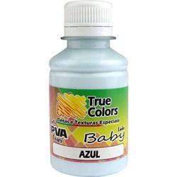 Tinta PVA Fosca para Artesanato True Colors 100mL - 7204 Azul Baby