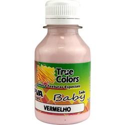 Tinta PVA Fosca para Artesanato True Colors 100mL - 7208 Vermelho Baby
