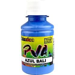 Tinta PVA Fosca para Artesanato True Colors 100mL Azul Bali