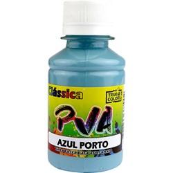 Tinta PVA Fosca para Artesanato True Colors 100mL Azul Porto