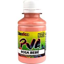 Tinta PVA Fosca para Artesanato True Colors 100mL Rosa Bebê