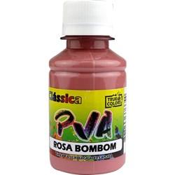 Tinta PVA Fosca para Artesanato True Colors 100mL Rosa Bombom