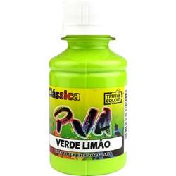 Tinta PVA Fosca para Artesanato True Colors 100mL Verde Limão