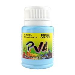 Tinta PVA Fosca para Artesanato True Colors 37mL Azul Opala