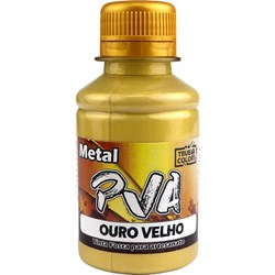 Tinta PVA Metal True Colors 100mL - 7993 Ouro Velho