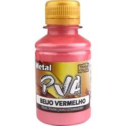 Tinta PVA Metal True Colors 100mL - Beijo Vermelho