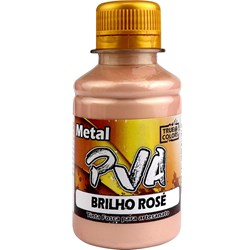 Tinta PVA Metal True Colors 100mL - Brilho Rosé