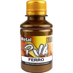 Tinta PVA Metal True Colors 100mL - Ferro