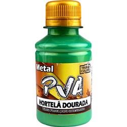 Tinta PVA Metal True Colors 100mL - Hortelã Dourado