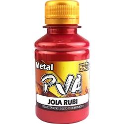 Tinta PVA Metal True Colors 100mL - Joia Rubi
