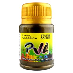 Tinta PVA Metal True Colors 37mL - 7981 Ouro Negro