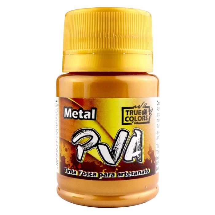 Tinta PVA Metal True Colors 37mL - Bronze