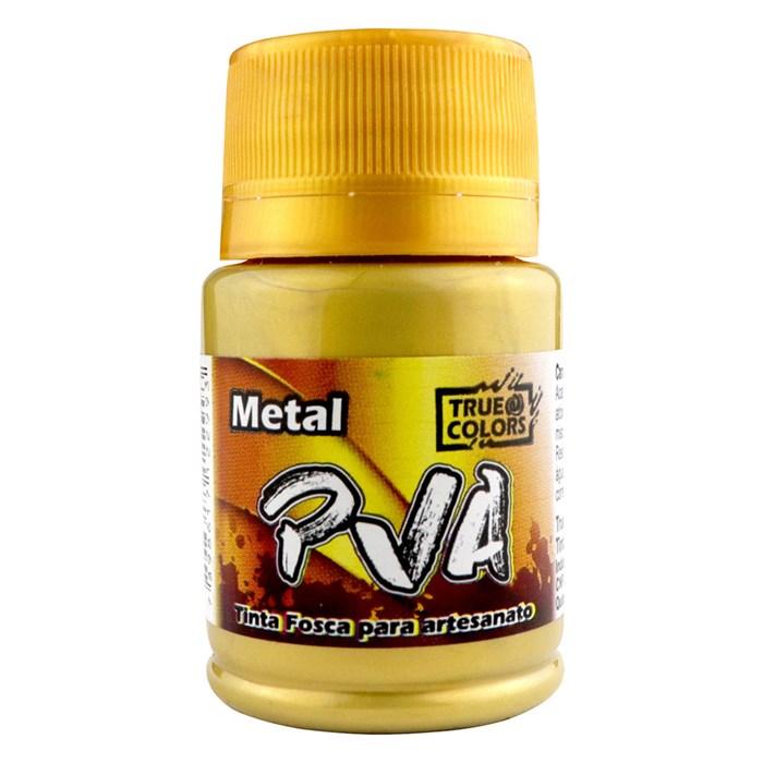 Tinta PVA Metal True Colors 37mL - Ouro Velho