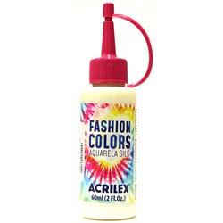 Tinta Tecido Acrilex Aquarela Silk Fashion Colors 60ml - 500 Incolor/Clareador