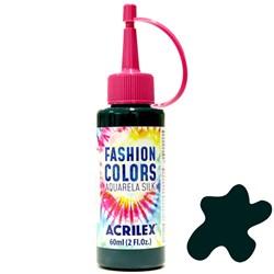 Tinta Tecido Acrilex Aquarela Silk Fashion Colors 60ml - 511 Verde Bandeira