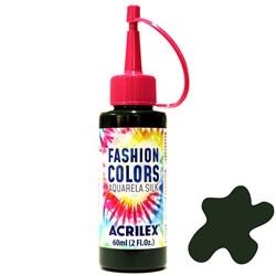 Tinta Tecido Acrilex Aquarela Silk Fashion Colors 60ml - 513 Verde Musgo