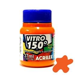 Tinta Vitro 150º Acrilex 37mL - 517 Laranja