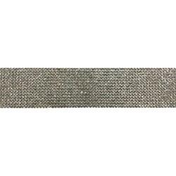 Tira Siliconada TL-017 Strass Cristal 39cm- 3cm