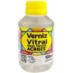 Verniz Vitral Acrilex 100mL - Incolor 500