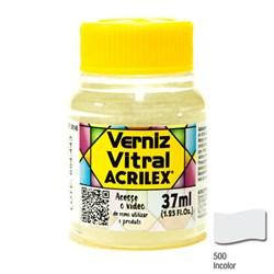 Verniz Vitral Acrilex 37mL - 500 Incolor