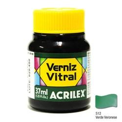 Verniz Vitral Acrilex 37mL - 512 Verde Veronese