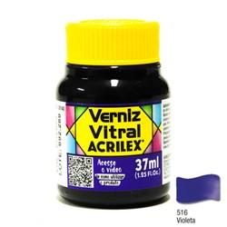 Verniz Vitral Acrilex 37mL - 516 Violeta