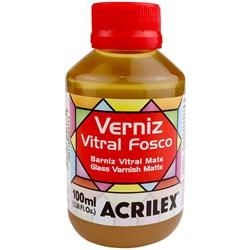 Verniz Vitral Fosco Acrilex 100mL - Incolor 806